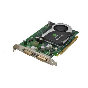 WX397 Dell 256MB Nvidia Quadro FX 570 DDR2 128-Bit Dual DVI PCI Express x16 Video Graphics Card