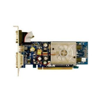 5188-5456 HP GeForce 7500LE 256MB PCI-Express Graphics Card DVI VGA S-Video