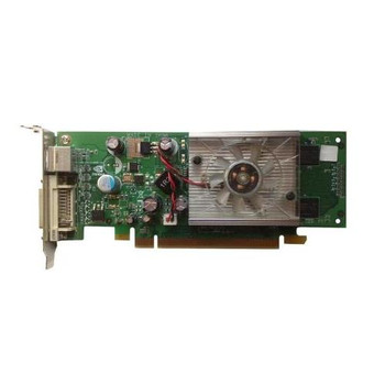 445743-001 HP Nvidia GeForce 8400GS PCI-Express x16 256MB 400MHz DVI / TV Out Video Graphics Card