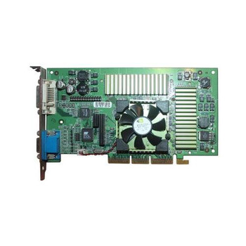 054NHR Dell 64MB nVidia Geforce2 DVI VGA Video Graphics Card