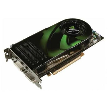 5188-7370 HP Nvidia GeForce 8800GTS 320MB 2 DVI / HDCP PCI Express Video Graphics Card