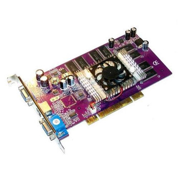 VCGFX52PPB PNY Verto GeForce FX 5200 128MB DDR Dual VGA and S-Video Connectors Video Graphics Card