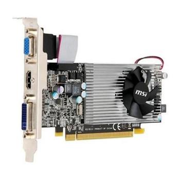 R5570-MD1G MSI Radeon Hd 5570 Pcie2.1 1024mb DDR3 Gpu Clock 650MHz Fansink Memory Cloc