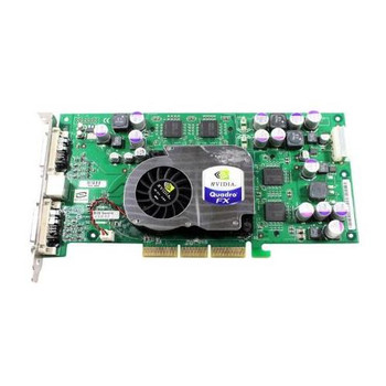 FX1000 Dell 128MB nVidia Quadro AGP Video Graphics Card