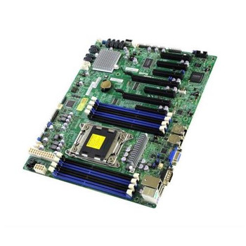 MBD-X9SRL-F-B SuperMicro Intel C602 Chipset Xeon E5-2600/ E5-1600 Series Processors Support Socket LGA2011 ATX Server Motherboard (Refurbished)