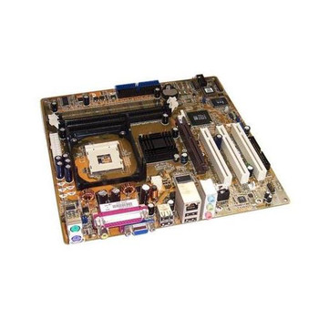P4S800-MX ASUS Socket 478 P4/Celeron Motherboard max 3.06GHz+ SIS 661FX/963L (Refurbished)