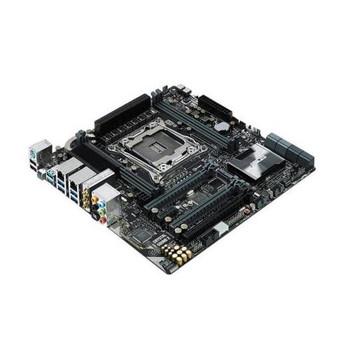 X99MWS ASUS X99-M WS Socket LGA2011 Intel X99 Chipset micro-ATX Motherboard (Refurbished)