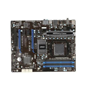 990FXA-GD65 MSI AMD AM3+ 990FX ATX System Board - Motherboard (Refurbished)