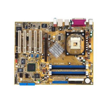P4C800 ASUS Intel 875P/ ICH5R Chipset Pentium 4/ Celeron Processors Support Socket 478 ATX Motherboard (Refurbished)