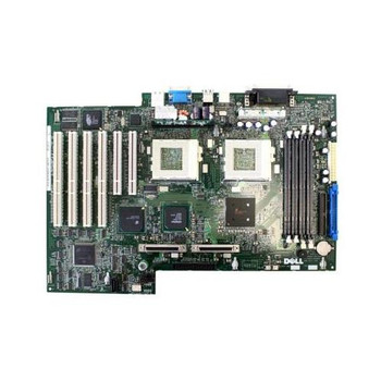 1H734 Dell Socket-370 System Board (Motherboard) for PowerEdge 1400SC (Refurbished)