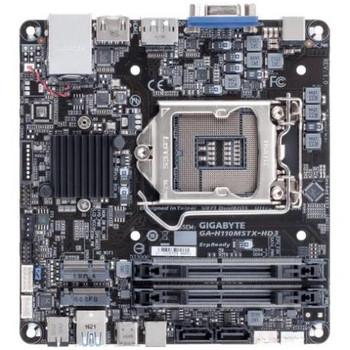 GA-H110MSTX-HD3 Gigabyte Ultra Durable Desktop Motherboard Intel H110 Chipset Socket H4 LGA-1151 (Refurbished)