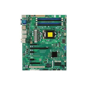 MBD-X9SAE-O SuperMicro Intel C216 Xeon E3-1200 v2 Series Processors Support Socket H2 LGA1155 ATX Server Motherboard (Refurbished)