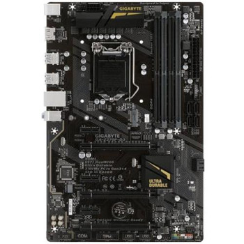 GA-Z270P-D3 Gigabyte Ultra Durable Desktop Motherboard Intel Z270 Chipset Socket H4 LGA-1151 (Refurbished)