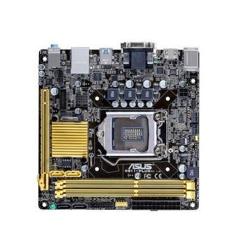 90MB0GC0-M0EAY0 ASUS Intel H81 Chipset Socket LGA1150 Motherboard (Refurbished)