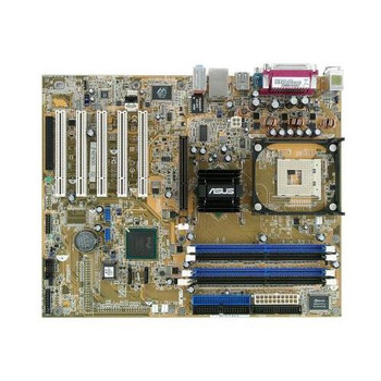 P4P800-SE ASUS Intel 865PE Chipset Celeron/ Pentium 4 Processors Support Socket 478 ATX Motherboard (Refurbished)