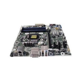 656599-001 HP System Board (MotherBoard) for Pavilion HPE h8-1040 LGA775 without CPU Notebook PC (Refurbished)