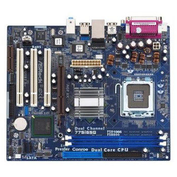 D14678-308 Intel Dg965ss Socket LGA 775 Desktop Motherboard (Refurbished)