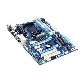 GA-970A-D3 Gigabyte Socket AM3+ AMD 970/ SB950 Chipset AM3+ FX/ AMD AM3 Phenom II/ Athlon II Processors Support DDR3 4x DIMM 6x SATA 6.0Gb/s ATX Mothe