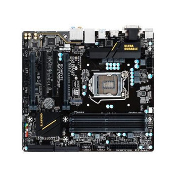 GA-H170M-D3H Gigabyte Socket LGA 1151 Intel H170 Express Chipset 7th/6th Generation Core i7 / i5 / i3 / Pentium / Celeron Processors Support DDR4 4x D