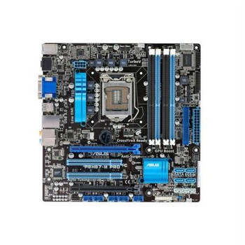 90-MIBDRA-G0AAY0GZ ASUS P8H67-M PRO/CSM Desktop Motherboard Intel H67 Express Chipset Socket H2 LGA-1155 (Refurbished)