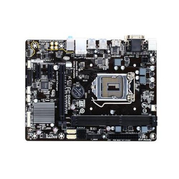 GA-H81M-S2H Gigabyte Ultra Durable Desktop Motherboard Intel H81 Chipset Socket H3 LGA-1150 (Refurbished)
