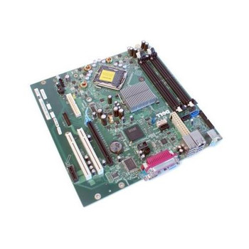 RF699 Dell System Board (Motherboard) for Optiplex 745C 745 755 (Refurbished)