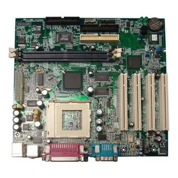 010945-101 HP System Board (MotherBoard) Socket-PGA370 Intel 810E Chipset 133MHz FSB for HP DeskPro EC/EP/SB (Refurbished)