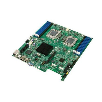 S5500WB12VR Intel Server Motherboard i5500 Chipset Socket B LGA1366 1333MHz FSB SSI EEB 2 x Processor Support (Refurbished)