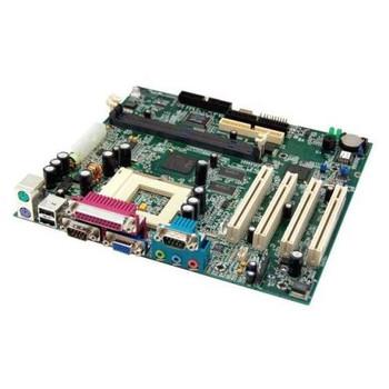 010697-101 HP System Board (MotherBoard) Socket-PGA370 Intel 810E Chipset 133MHz FSB for HP DeskPro EC/EP/SB (Refurbished)