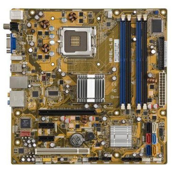 IPIBL-LB ASUS Socket 775 Intel G33 Chipset Intel Core 2 Quad/ Core 2 Duo/ Core 2 Quad Processors Support DDR2 4x DIMM 6x SATA 3.0Gb/s Micro-ATX Mother
