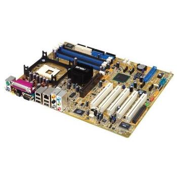 P4P800-E ASUS Intel 865PE/ICH5R Chipset Pentium 4/ Celeron Processors Support Socket LGA478 ATX Motherboard (Refurbished)