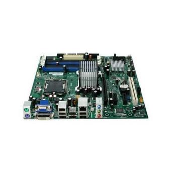 DG35EC Intel Desktop Motherboard Socket T LGA775 1333MHz FSB DDR2 micro ATX 1 x Processor Support (Refurbished)