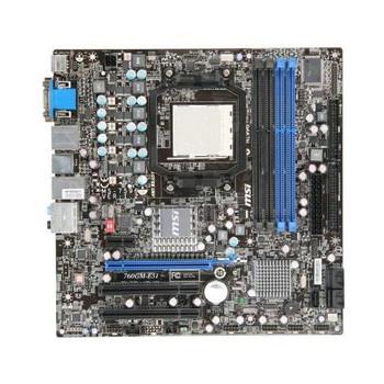 760GM-E51 MSI Socket AM3 AMD 760G/SB710 Chipset micro-ATX Motherboard (Refurbished)