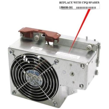 158608-001 Compaq External Hot-Plug Redundant System Fan Assembly