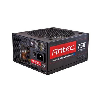 HCG-750M Antec 750-Watts ATX 12V CrossFire 80Plus Bronze Power Supply with Active PFC