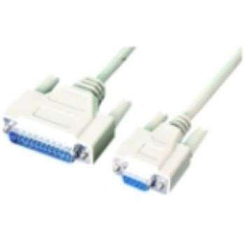 0088-1 APC Serial Cable DB-9 Female DB-25 Male 1ft (Refurbished)
