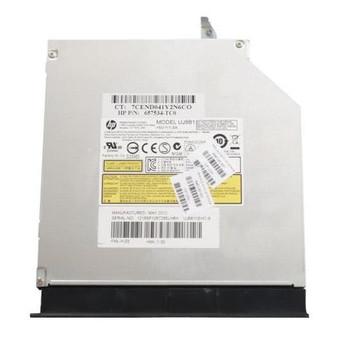 657534-TC0 HP 8x DVD+/-RW SATA SlimLine Dual Layer LightScribe Optical Drive