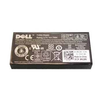 0P9110 Dell 3.7V 7WH Lithium-Ion RAID Controller Battery (Refurbished)