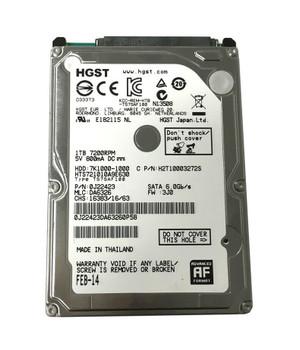 HTS721010A9E630 Hitachi 1TB 7200RPM SATA 6.0 Gbps 2.5 32MB Cache Travelstar Hard Drive