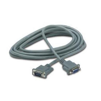 AP9815 APC Serial Extension Cable DB-9 Male DB-9 Female 15ft Gray (Refurbished)