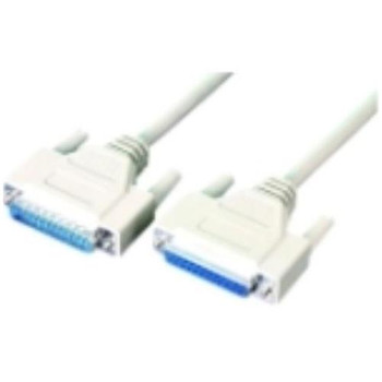 0082-10 APC Serial/Null Modem Cable DB-25 Male DB-25 Female 10ft (Refurbished)