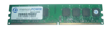 2GB667DDR2 Centon Electronics 2GB DDR2 ECC PC2-5300 667Mhz Memory