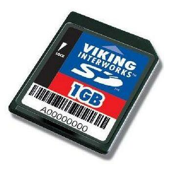 2XSD1GB Viking 2GB Kit (2 X 1GB) SD Flash Memory Card