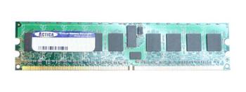 ACT1GDU72Z8F400S ACTICA 1GB DDR ECC PC-3200 400Mhz Memory