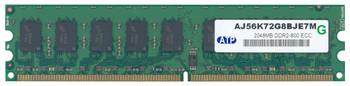 AJ56K72G8BJE7M ATP 2GB DDR2 ECC PC2-6400 800Mhz Memory