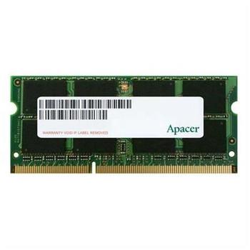 AS04GFA60CATBGJ Apacer 4GB DDR3 SoDimm Non ECC PC3-12800 1600Mhz 2Rx8 Memory