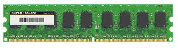 D2-4G800QI Super Talent 4GB DDR2 ECC PC2-6400 800Mhz Memory