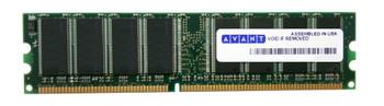 AVM6464U38C5333K1 Avant 512MB DDR Non ECC PC-2700 333Mhz Memory