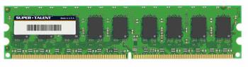 D22GE667K Super Talent 2GB DDR2 ECC PC2-5300 667Mhz Memory