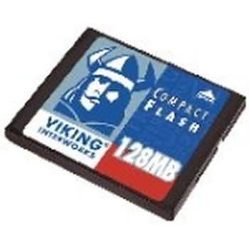 CF-ADAPT32/128MB Viking 128MB CompactFlash (CF) Memory Card